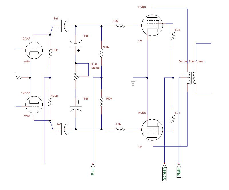 Installing a Master Volume? | The Gear Page on marshall 1974x schematic, marshall jvm schematic, potentiometer schematic, 100 watt marshall schematic, marshall jcm 800 schematic, marshall dsl 401 schematic, blackstar ht 20 head schematic,